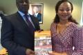 M. Aly TOURE, Représentant Permanent de la Côte d'Ivoire auprès des Organisations Internationales de Produits de Base et Mme Nassenéba TOURE DIANE, Premier Magistrat de la Commune d'Odienné