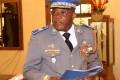 Le Général de division Honoré Nabéré Traoré Commandeur de l'Ordre national