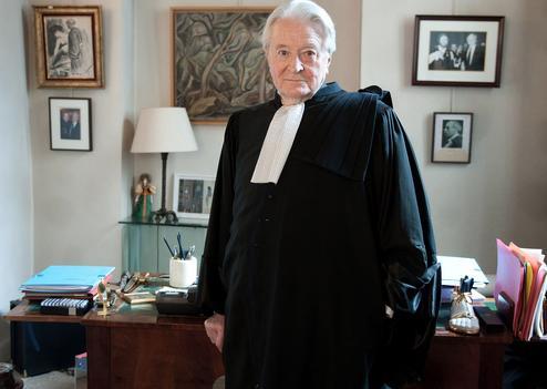 PARIS: Attorney Roland Dumas .
