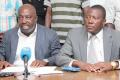 Clément Adjouroufou et Williams Koffi, membres du Bureau politique du Pdci, dénoncent les sanctions qui leur ont été infligées. (Ph: DR)
