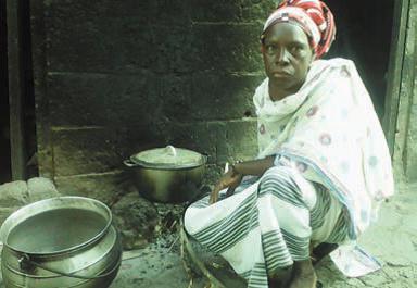 …dame Ouédraogo, quant à elle, ne peut sortir de Zuénoula pour la même raison. (Photos MK)
