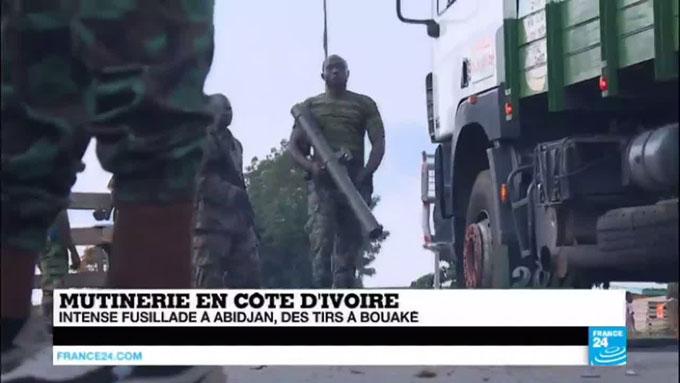 Mutinerie en Côte d'Ivoire