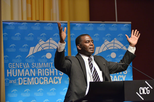 Abeid Biram Dah, Président de l'Initiative de Résurgence du Mouvement Abolitionniste en Mauritanie - IRA