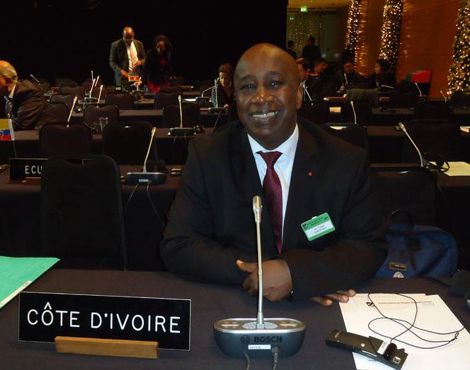 M. Aly TOURÉ, Représentant Permanent auprès des Organisations Internationales de Produits de Base à Londres, Royaume-Uni