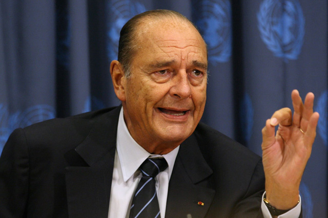 « Sans l'Afrique, la France descendra au rang de puissance du tiers [monde] » — Jacques Chirac, 2008
