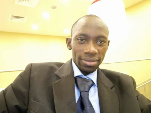 M. Adeodat Dido, Président de l'Association Nationale des Sourds de Côte d'Ivoire – Anasoci