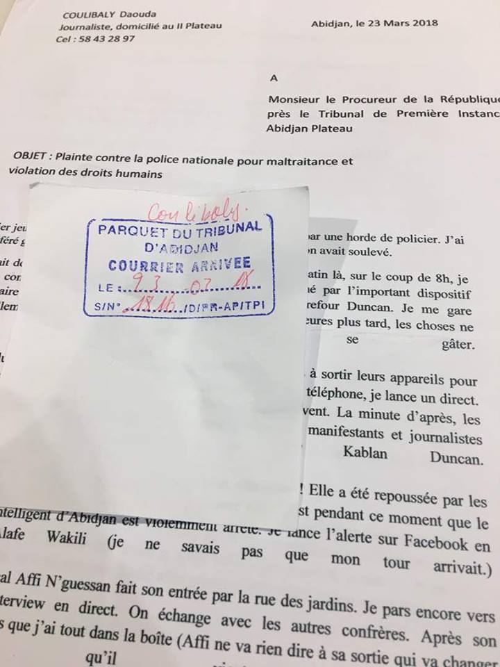 Cote D Ivoire Liberte De La Presse Le Journaliste