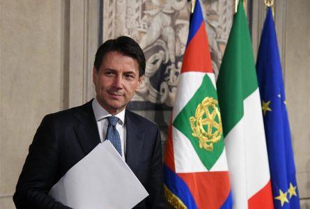 Le nouveau Premier ministre italien, Giuseppe Conte