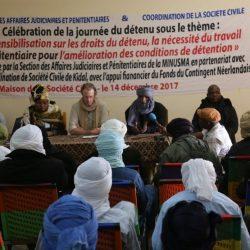 Mali : À Kidal, la MINUSMA promeut le respect des droits des personnes en détention