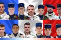 Les treize militaires français tués au Mali dans un crash d'hélicoptères (Crédit : DICOD / EMA)