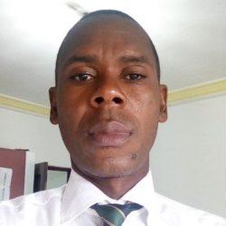 Djah Michel-Désiré, Secrétaire général de la section ''FPI de Gbagbo'' de la Sogefiha-municipalité, à Yopougon.