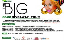 "The BIG NEW IS HERE!…with ""The BIG 60/60 GIVEWAY TOUR"""